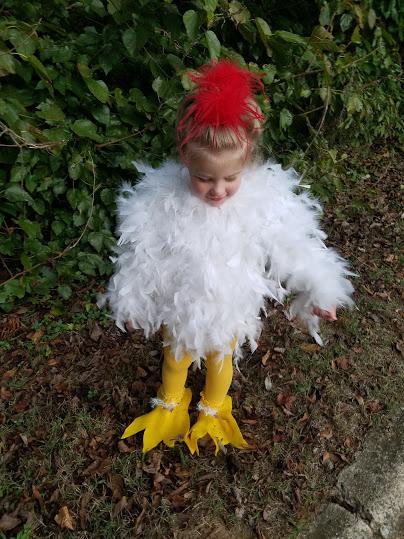 chicken costume  sc 1 th 259 & DIY Childrenu0027s Chicken Costume